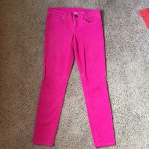 Jcrew Pink corduroy pants